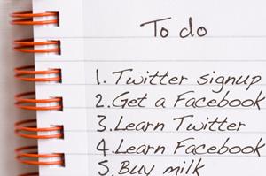 social media to-do