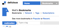 Bookmark War: Delicious vs. Google Reader, My Review