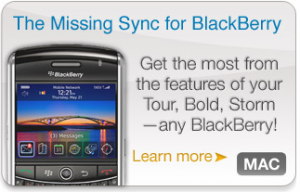 Mac and Blackberry/Android/Smartphone Users Gotta Check Out Missing Sync