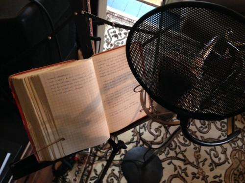 Dave Lamb microphone