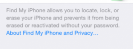New Find my Iphone Feature