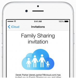 Your Family Will 'Share' the Love of this New iOS8 Feature